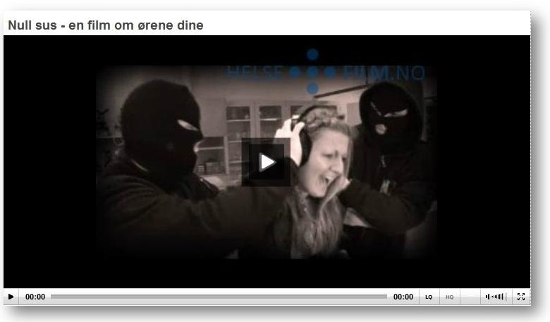 Film: Null sus - en film om ørene dine